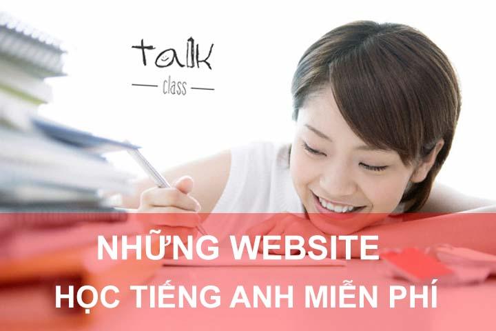 Những website học tiếng anh tại nhà miễn phí hàng đầu