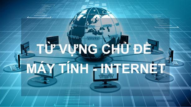 từ vựng máy tính và internet